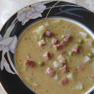 """Ham, Peas & Potato Herb Soup"" Recipe Courtesy Al Cheney"