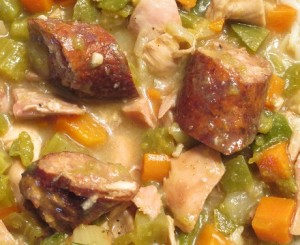 SMOKEY CHICKEN SAUSAGE GUMBO 02012015 BLOG09 440x360